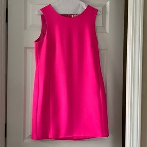 Pink sleeveless boutique dress